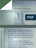 Environmental Crime