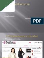 Prezentare Magazin Online