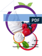 research on Frozen Yogurt Market