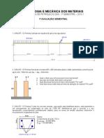1ª avaliação Tecnologia e Mecânica dos Materiais