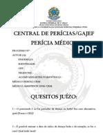 Quesitos Médicos Central de Perícias