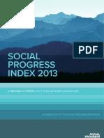 Social Progress Index 2013