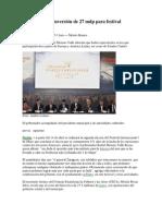 11-04-2013 Milenio - Anuncia RMV inversión de 27 mdp para festival internacional.pdf