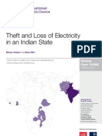Theft and Loss of Electricity in an Indian State