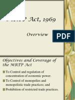 MRTP Act, 1969.ppt