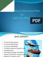 A International Business Plan