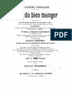 34837922 La Cuisine Francaise L Art Du Bien Manger
