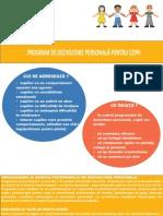 Programe de Dezvoltare Personala Pentru Copii Adolescenti Si Tineri