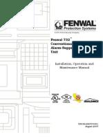 Fenwal 732™ Conventional Fire Alarm-Suppression Control Unit