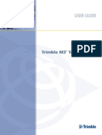 Trimble m3 Userguide 100a English