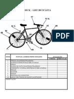 Check List Bicicleta