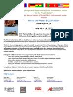 PSLO Water and Sanitation Mission June 2013 - Agenda Registration