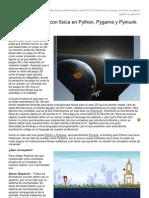 Elchiguireliterario.com-Armando Un Juego Con Fisica en Python Pygame y Pymunk I