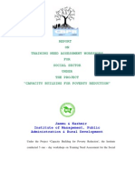 Social Welfare Tna Report