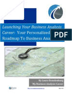 Building Your Roadmap to Business Analysis