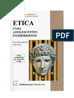 ÉTICA PARA ADOLESCENTES POSMODERNOS