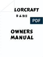 Taylorcraft Owners Manual BB12