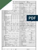 Data Sheet Control Valve