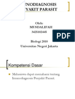 Musdalifah- Imunodiagnosis Penyakit Parasit
