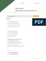 Matematica - 1º Ano do Ensino Médio Volume 1