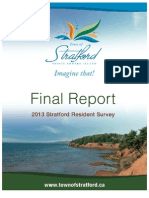 Stratford Resident Survey 2013 Report Final Web