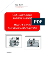 Haas Lathe Programming Manual | Numerical Control | Cartesian