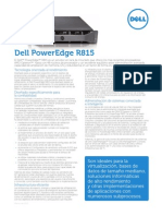 PowerEdge R815 Spec Sheet LA