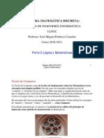 Tema 3 - Lógica y matemáticas