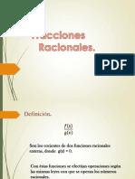 Fracciones Racionales