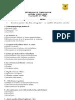 Test Lectura Domiciliaria, Como Domesticar a Tus Papas.