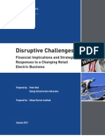 Disruptive Challenges: