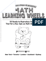 Math Learning Wheels - Primary
