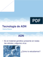 Tecnologc3ada de Adn