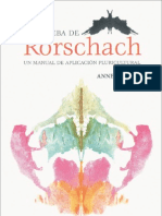 Anne Bar Din La Prueba de Rorschach 2001