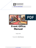 Front Office Manual