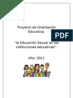 Proyecto de Orientación Educativa