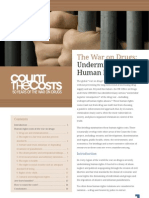 Human_rights_briefing War on Drugs