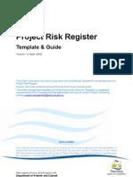 Risk Register Template