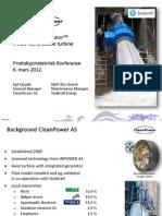 CleanPower Statkraft Installation