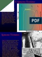3 Texturas de Rocas Igneas
