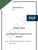 Nilesh Math Term Paper