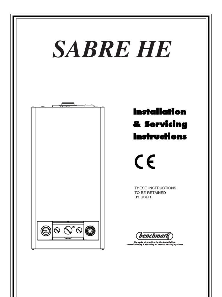 sabre 25he combi water heating valve rh scribd com Honeywell Boiler Aquastat Wiring-Diagram Gas Boiler Wiring Diagram