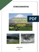 Potencial Minero Arequipa 2009
