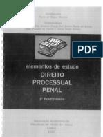Direito Processual Penal Elementos de Estudo AAFDL[1]