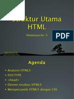 03 Struktur Utama HTML 110201010703 Phpapp02