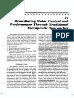 Remediating Motor Control