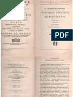 Alonso de Ovalle Historica Relacion Del Reino de Chile
