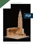Notre Dame Du Raincy Model