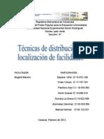 Analisis 1 Tecnicas de Distri. y Loc de Fac