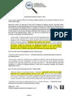 Summary of Deposition 04/11/2013